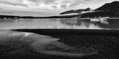 Skaftafell Panorama Lake by boldfrontiers