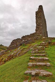 Dolwyddelan Step Castle Ruins