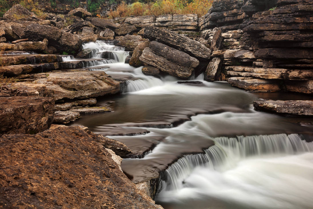Rugged Caney Fork Cascades by boldfrontiers