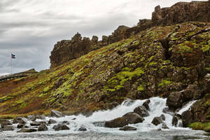 Rugged Iceland Moss Stream (freebie) by boldfrontiers