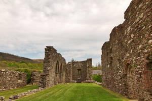 Cymer Abbey Ruins by boldfrontiers