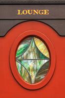 Train Lounge Window by boldfrontiers