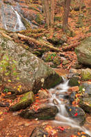 Rugged Autumn Wigwam Creek by boldfrontiers
