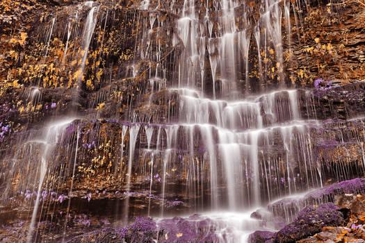 Moss Wall Fantasy Waterfall