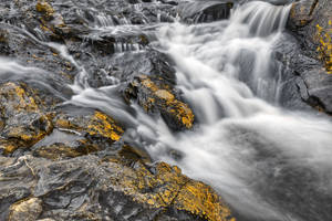 Beaver Pond Cascades by boldfrontiers