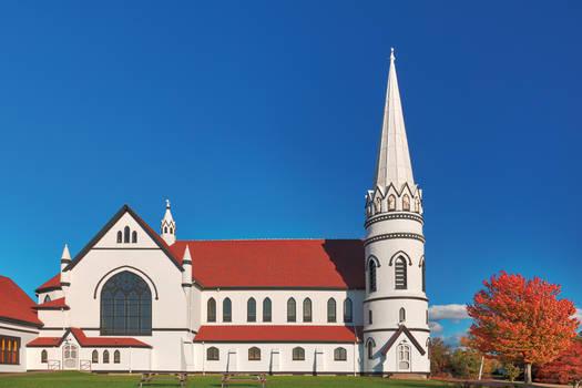 Saint Mary's Autumn Church (freebie) by boldfrontiers