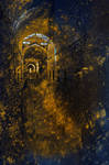 Golden Grunge Prison by boldfrontiers