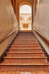 Arch Brick Staircase by boldfrontiers