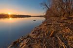 Potomac River Sunset III - Edwards Ferry