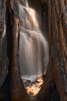 Sequoia Sunbeam Falls by boldfrontiers