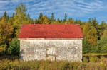 Rustic PEI Blockhouse by boldfrontiers