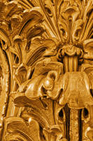Gold Sculpted Flourishes by boldfrontiers