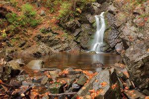Rugged Autumn Howland Falls by boldfrontiers