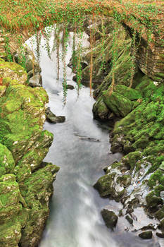Penmachno Roman Moss Bridge