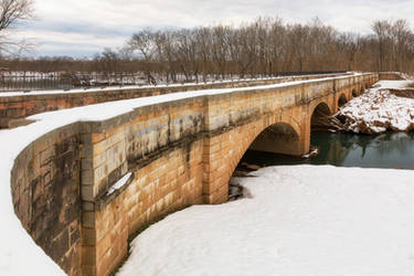Monocacy Winter Aqueduct by boldfrontiers