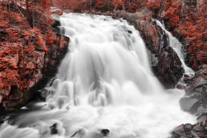 Red Devil Falls by boldfrontiers