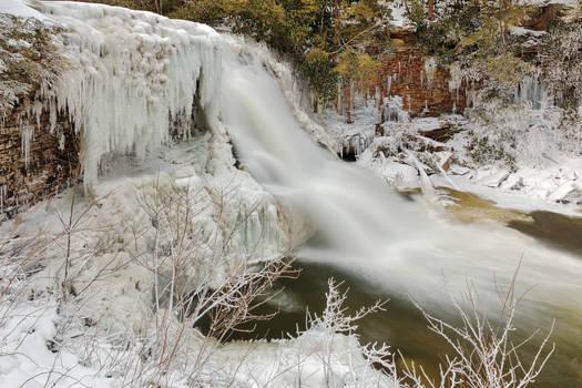 Winter Wonderland Waterfall