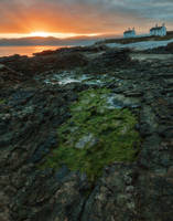 Penmon Point Sunrise by boldfrontiers