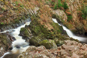Conwy Falls by boldfrontiers