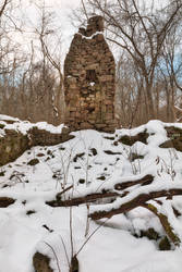 Winter Monocacy Ruins by boldfrontiers