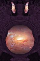 Purple Space Emoji - Dolbadarn Castle by boldfrontiers