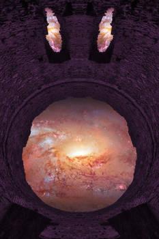 Purple Space Emoji - Dolbadarn Castle
