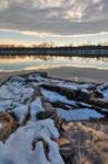 Winter Potomac Reflections - Goose Creek