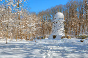 Winter Ruins - Susquehanna Windmill by boldfrontiers