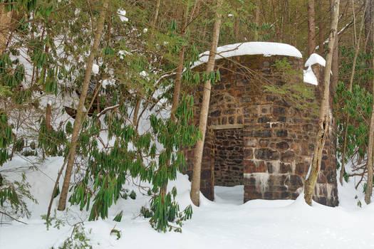 Winter Lehigh Ruins
