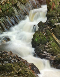 Conwy Column Falls by boldfrontiers