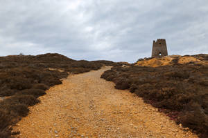 Windmill Ruins Trail - Parys Mountain by boldfrontiers