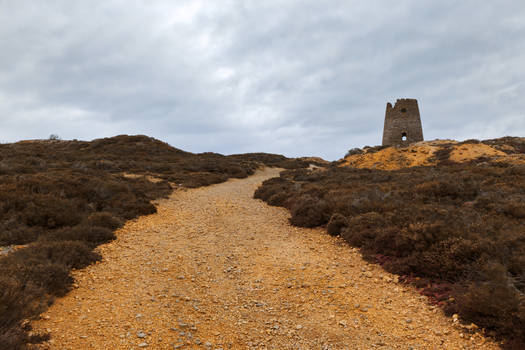 Windmill Ruins Trail - Parys Mountain