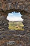 Auchindoun Castle Frame by boldfrontiers