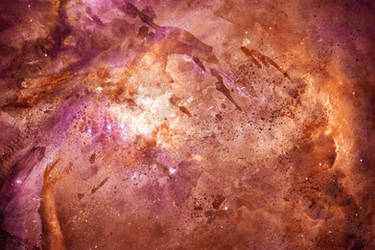 Acrylic Space - Orion Nebula by boldfrontiers