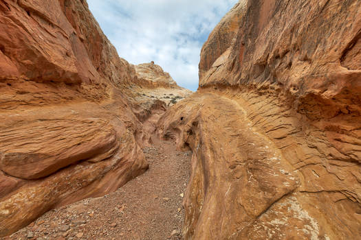Bell Ramp Canyon by boldfrontiers