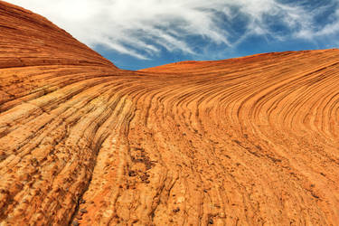 Petrified Sand Dunes by boldfrontiers