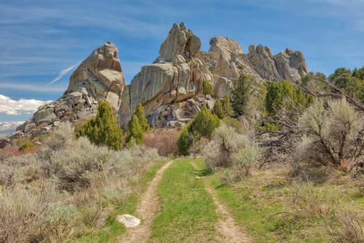 Castle Rocks Trail by boldfrontiers