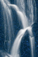 Blue Marbled Waterfall