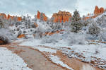 Bryce Canyon Winter Stream