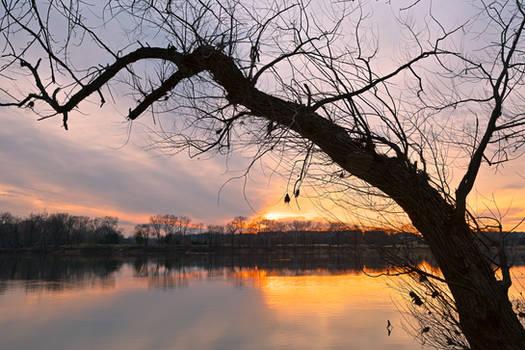 Potomac River Sunset IV - Edwards Ferry