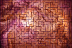 Acrylic Space Maze - Orion Nebula