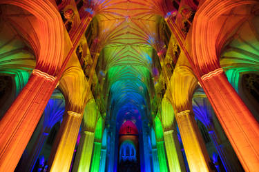 Washington Cathedral of Lights (freebie)