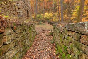 Autumn Furnace Walls - Roaring Run