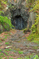 Forbidden Mine Passage by boldfrontiers