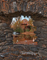 Falls Mill Fantasy Frame by boldfrontiers