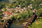Harpers Ferry Overlook by boldfrontiers