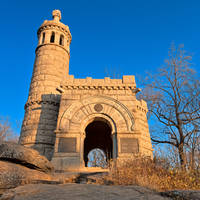 Gettysburg Castle Monument by boldfrontiers