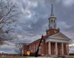 Gettysburg Lutheran Chapel by boldfrontiers