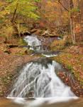 Autumn Roaring Slide Falls