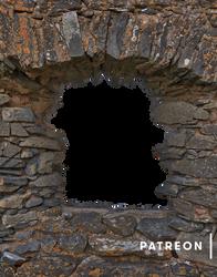 Auchindoun Castle Frame (Exclusive Patreon Precut)